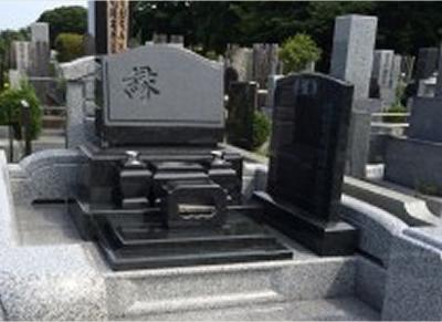 オリジナルのデザイン墓石対応
