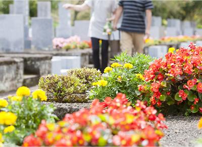 お墓探しの不動産屋さんとして、最初から最後までしっかりサポート
