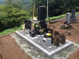【神奈川県相模原市個人墓所:納骨堂】リフォーム