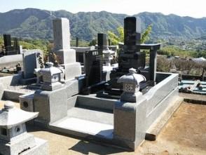 相模原市緑区内寺院墓地 1尺角高級型
