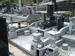 道志村、寺院墓地 1尺角高級型