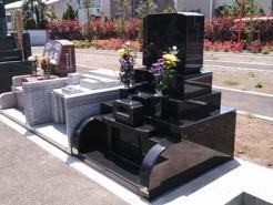 あきる野市内寺院墓地