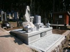 山梨県富士吉田市 デザイン墓石