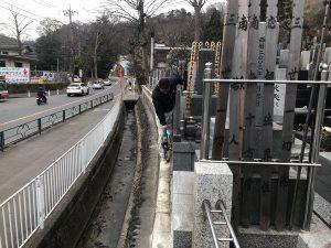 お寺様の塀の改修工事を行ってきました。